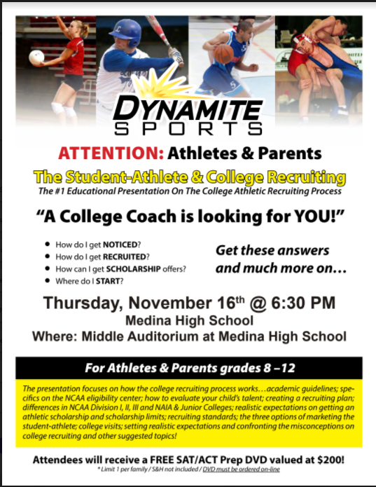 "Seminar ""Guiding the College-Bound Athlete"""