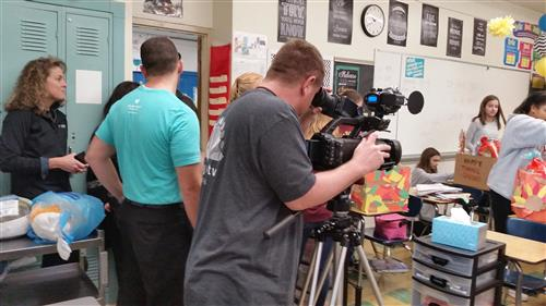 Channel 3 at Claggett for Thrivent Action Team Piece