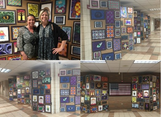 Claggett Middle School Hosts Student Art Show