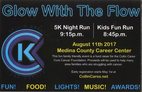 Collin Cares Glow with the Flow Night 5K Run