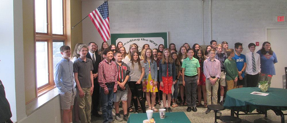 Claggett Middle School Leaders Recognized