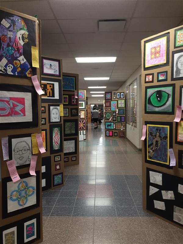 A.I. Root Middle School Students Share Their Artistic Talents