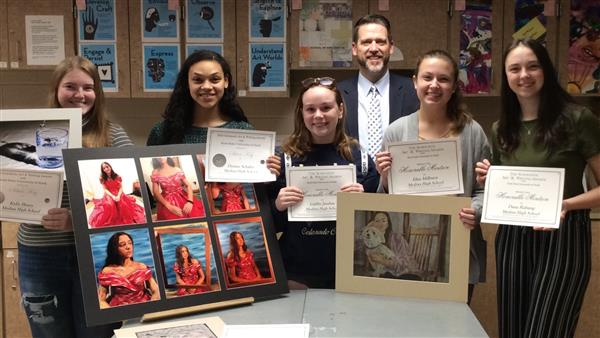 Medina High School Students Receive Scholastic Art Awards