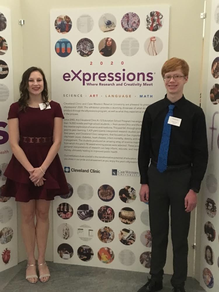 Medina High School Sophomores Participate in the Cleveland Clinic eXpressionsⓇ Contest