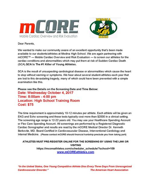 mCORE Assessment Information