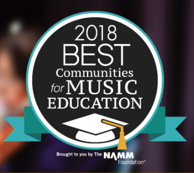 Medina City Schools Receives a 2018 Best Communities for Music Education Award