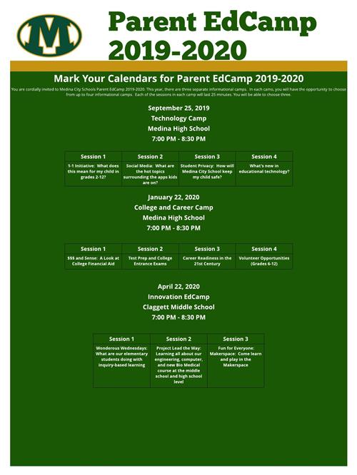 Parent EdCamp 2019-2020