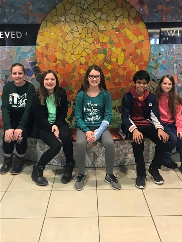 Claggett Middle School Students Compete in Math Counts Competition