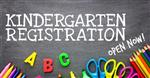 Kindergarten Registration for 2018-2019 School Year Now Open