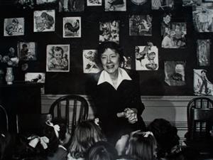 Ella Canavan Teaching a Classroom of Students