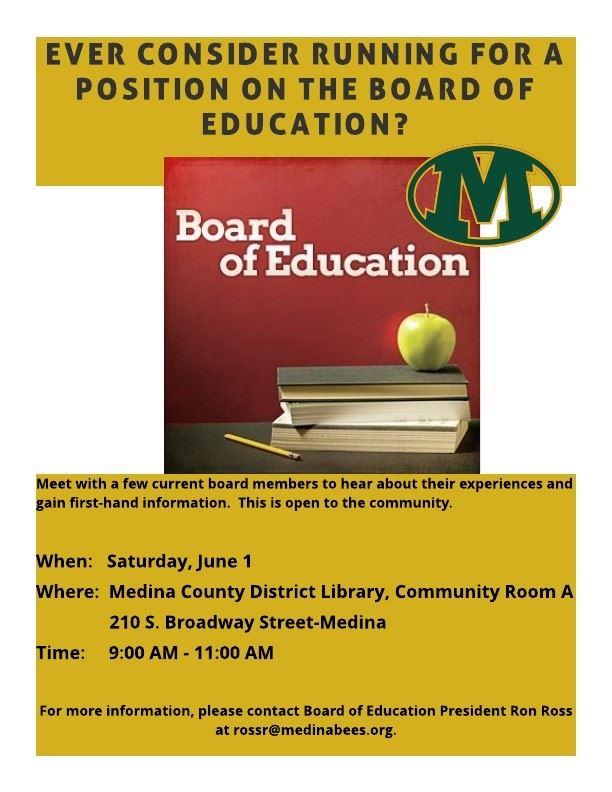 Board of Education Community Chat