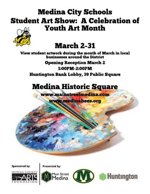 MCS Student Art Show March 2, 2019