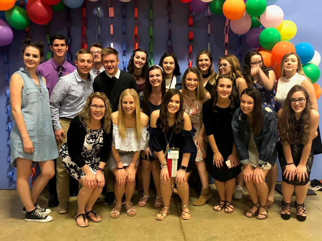 Medina High School Student Council Members Attend Ohio Association of Student Councils State Conference