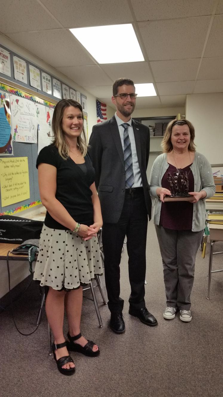 Heritage Gifted Teacher Receives 2018 PACE Award