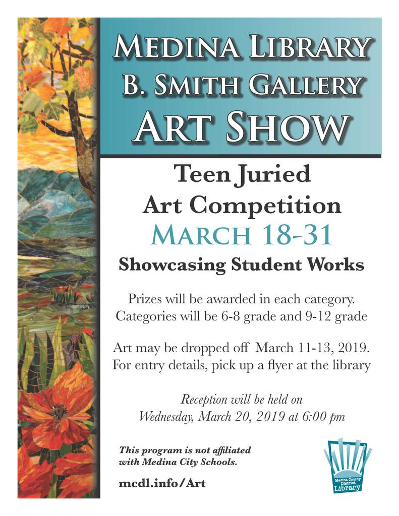 Medina Library B. Smith Gallery Art Show