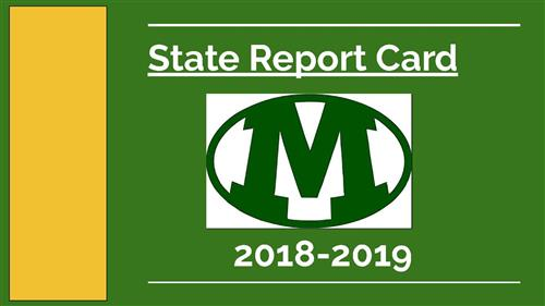 2019 State Report Card Presentation