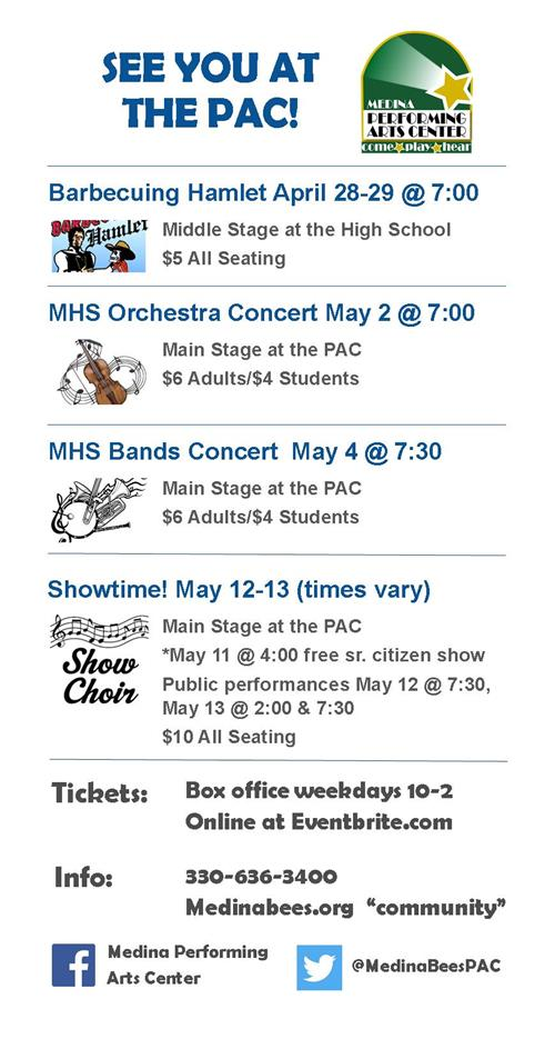 Performing Arts Center Events