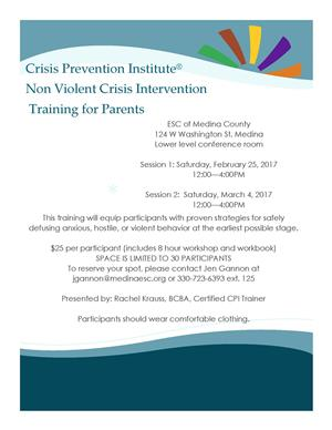 CPI Training Flyer